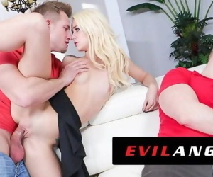 EVIL ANGEL Elsa Jean Fucks..