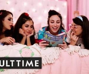 GIRLCORE Teen Lesbians Just..