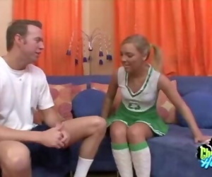 Naughty Cheerleader Cock..