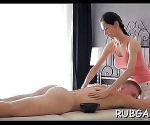 Hand job massage 5 min